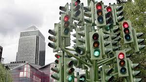 red light bunch