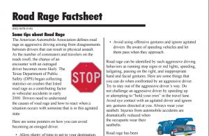 Texas road rage